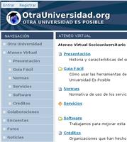 Inauguración del Ateneo Virtual Sociouniversitario de Otra Universidad Es Posible